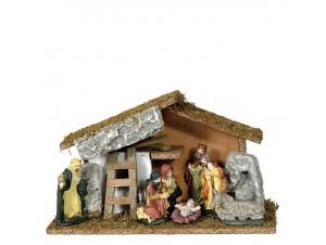 Χριστουγεννιάτικη φάτνη 30 x 12 x 18 εκ.