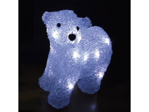 Φωτιζόμενο αρκουδάκι με 16 LED 20 εκ.