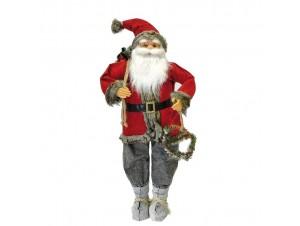 Χριστουγεννιάτικος διακοσμητικός Άγιος Βασίλης 90 εκ.