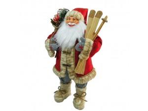 Χριστουγεννιάτικος διακοσμητικός Άγιος Βασίλης 80εκ.