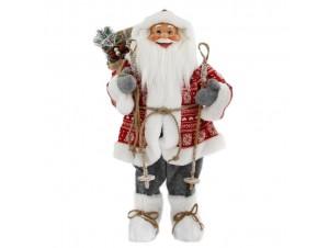 Χριστουγεννιάτικος διακοσμητικός Άγιος Βασίλης 60 εκ.