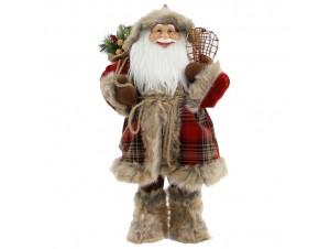 Χριστουγεννιάτικος διακοσμητικός Άγιος Βασίλης 60εκ.