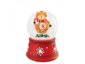 Χριστουγεννιάτικη χιονόμπαλα 4,5 x 6,3 εκ.