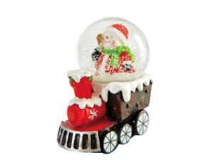 Χριστουγεννιάτικη χιονόμπαλα 6,5 x 4,5 x 7,5 εκ.
