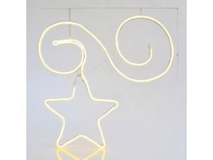 Φωτιζόμενο Χριστουγεννιάτικο αστέρι διακόσμησης 300 εκ.