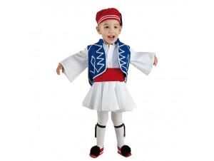 Παραδοσιακή παιδική στολή Εύζωνας