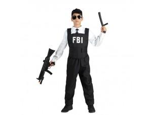 Αποκριάτικη παιδική στολή FBI πράκτορας