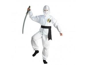 Αποκριάτικη στολή White Νίντζα