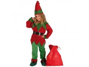 Χριστουγεννιάτικη παιδική στολή Βοηθός Άγιου Βασίλη