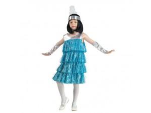 Αποκριάτικη παιδική στολή Βασίλισσα του Τσάρλεστον