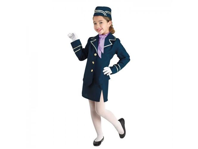 Αποκριάτικη παιδική στολή Αεροσυνοδός