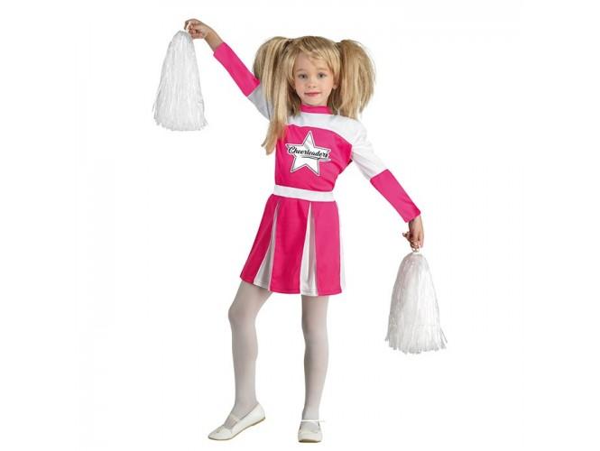 Αποκριάτικη παιδική στολή Ροζ Μαζορέτα