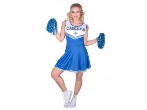 Αποκριάτικη στολή Μπλε Μαζορέτα