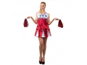 Αποκριάτικη στολή Μαζορέτα Φόρεμα κόκκινο
