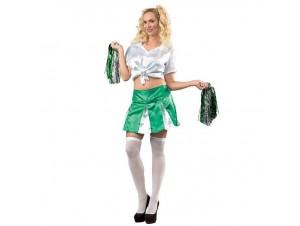 Αποκριάτικη στολή Μαζορέτα πράσινη