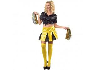 Αποκριάτικη στολή Μαζορέτα κίτρινη
