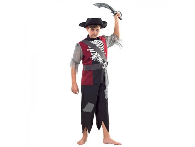 Αποκριάτικη παιδική στολή Πειρατής Τρόμου
