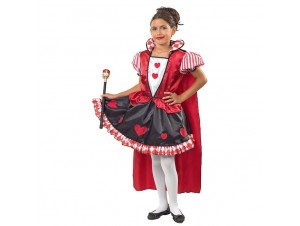 Αποκριάτικη παιδική στολή Βασίλισσα της Καρδιάς