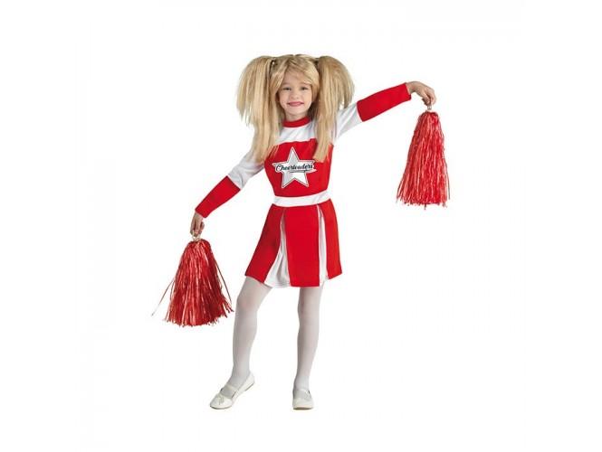 Αποκριάτικη παιδική στολή Κόκκινη Μαζορέτα