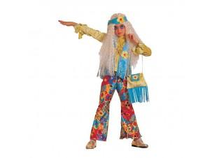bb9eb86af74 Αποκριάτικη παιδική στολή Hippie Girl
