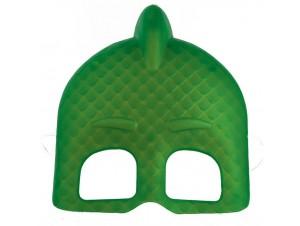 Αποκριάτικη μάσκα πιτζαμοήρωα πράσινη