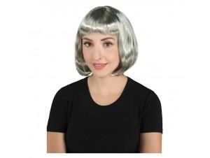 Αποκριάτικη περούκα cecile γκρι