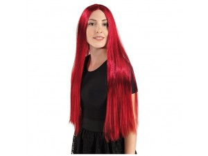 Αποκριάτικη περούκα Christy κόκκινη