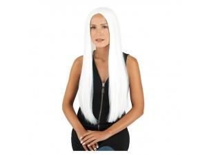 Αποκριάτικη περούκα λευκή