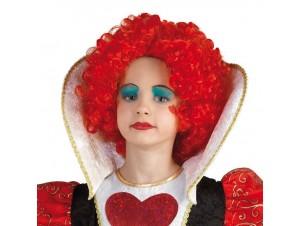 Αποκριάτικη περούκα queen of heart