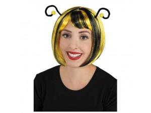 Αποκριάτικη περούκα μελισσούλας με κεραίες