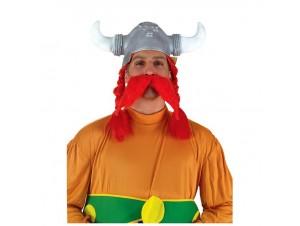 Αποκριάτικο καπέλο LATEX Γαλάτη με μουστάκι
