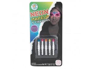 Αποκριάτικο μακιγιάζ μολύβια λαδιού