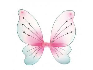 Αποκριάτικα φτερά πεταλούδας ροζ