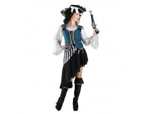 Αποκριάτικη στολή πειρατίνα κοντή