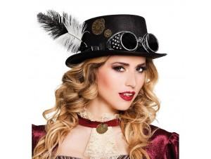 Αποκριάτικο Καπέλό Steampunk