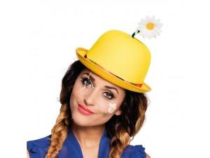 Αποκριάτικο Καπέλο Κλόουν Με Λουλούδι