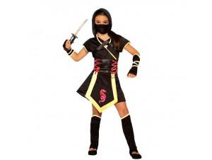 Αποκριάτικη παιδική στολή ninja girl