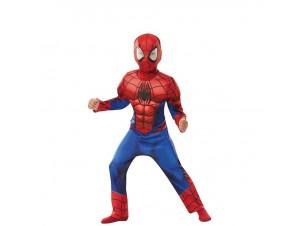 Αποκριάτικη παιδική στολή Spiderman Deluxe