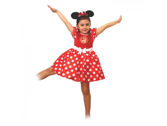Αποκριάτικη παιδική στολή Minnie