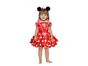 Αποκριάτικη παιδική στολή Minnie Μπαλαρίνα