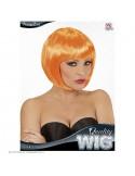 Αποκριάτικη περούκα πορτοκαλί κοντή