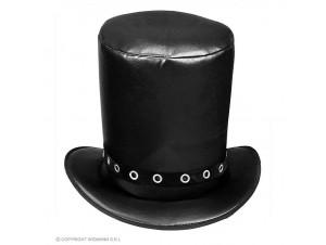 Αποκριάτικο μαύρο ψηλό καπέλο