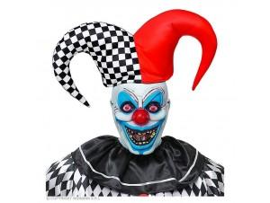 Αποκριάτικη μάσκα αρλεκίνος του τρόμου