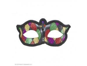 Αποκριάτικη μάσκα αρλεκίνου