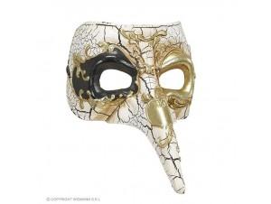 Αποκριάτικη βενετσιάνικη μάσκα με μύτη