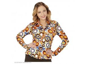 Αποκριάτικο γυναικείο πουκάμισο ντίσκο