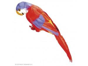 Αποκριάτικος παπαγάλος με φτερά