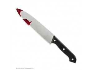 Αποκριάτικο μαχαίρι με αίμα