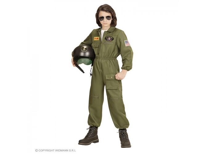 Αποκριάτικη παιδική στολή πιλότος Top Gun