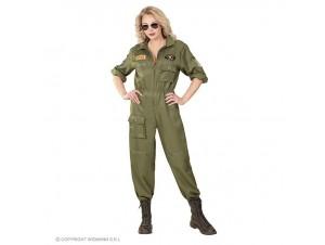 Αποκριάτικη στολή γυναίκα πιλότος Top Gun